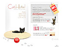 Cat hotel - Flash Template