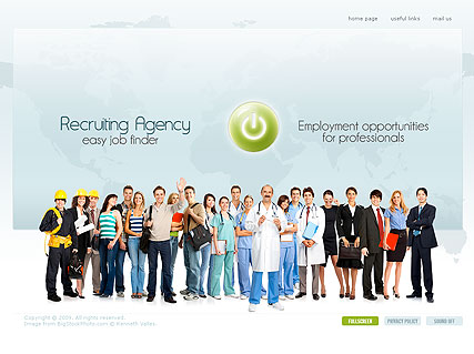Recruiting Website Template. consulting coaching website templates ...