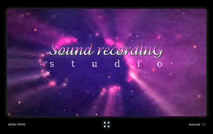Sound Recording Flash Intro Template