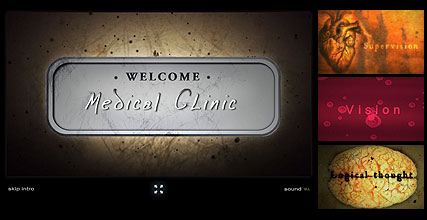 Medical Clinic Flash Intro Template