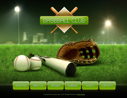 Club dynamic flash template baseball club dynamic flash template toneelgroepblik Images