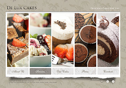 Cakes Dynamic Flash Template
