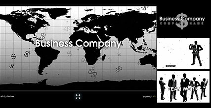 BW Business Flash Intro Template