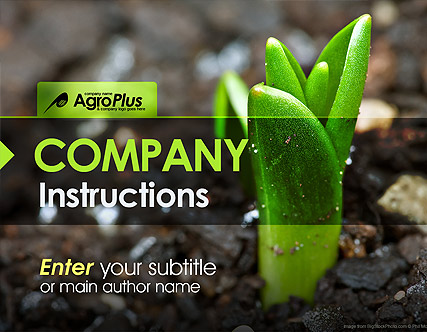 agro plus powerpoint template
