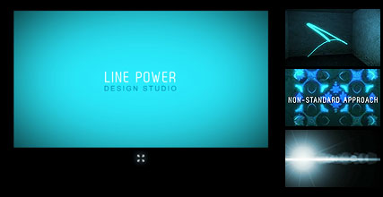 Line Design Flash Intro Template
