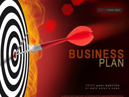Business plan powerpoint template flashek Image collections