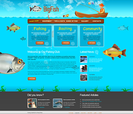 Fish Websites