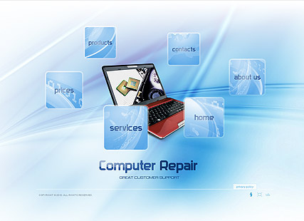 Computer Repair Dynamic Flash