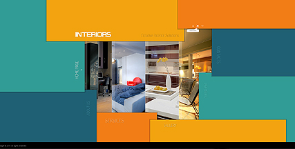 Interior Design Dynamic Flash Template