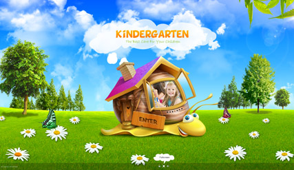Flash photo video gallery template kindergarten website template information toneelgroepblik Image collections