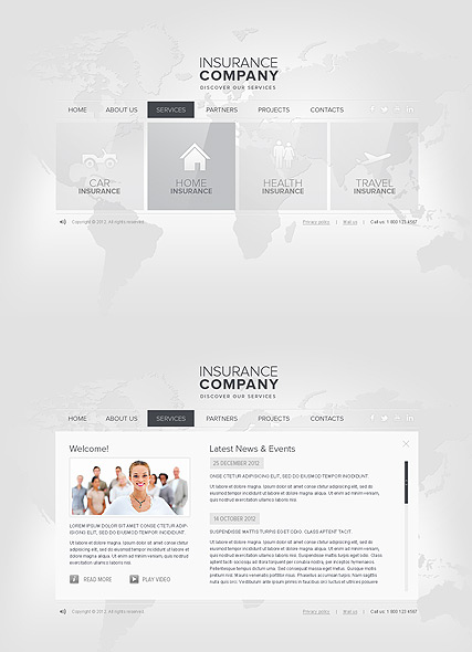 Insurance HTML5 Template