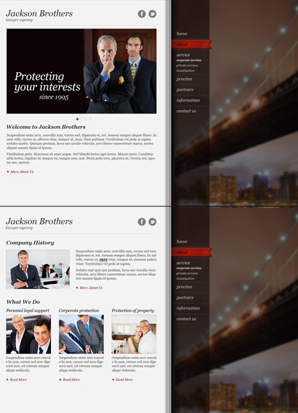 Private Lawyer HTML5 Template