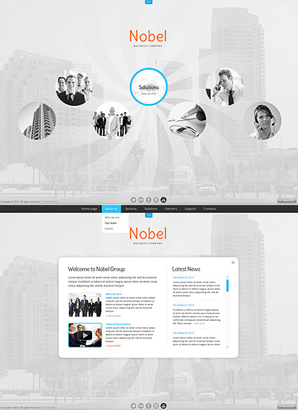 Business Circles HTML5 Template