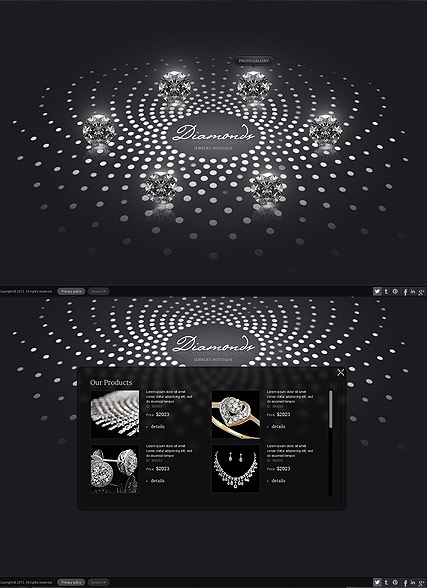 Jewelry Boutique HTML5 Template