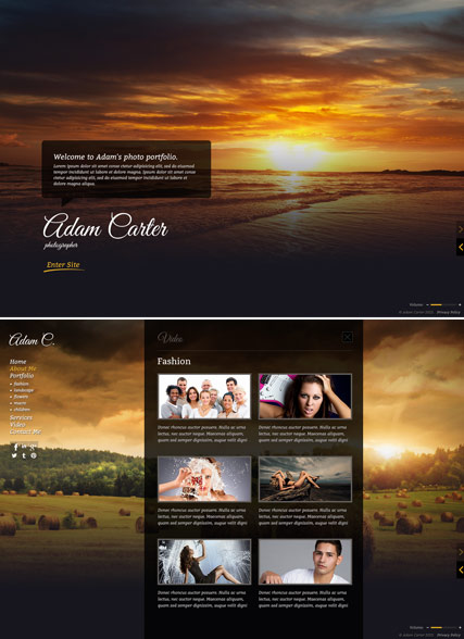 photo gallery html5 photo  u0026 video gallery template