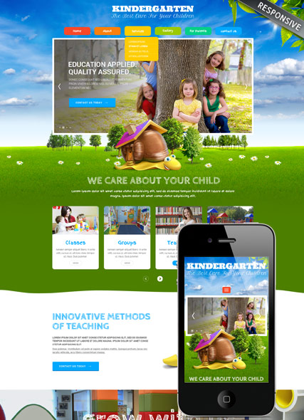 Kids Land Wordpress Template