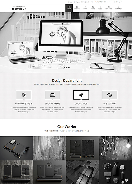 BrandName HTML5 Template