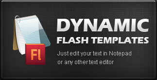 Dynamic Flash Templates